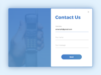 Contact Us (Daily UI #028)