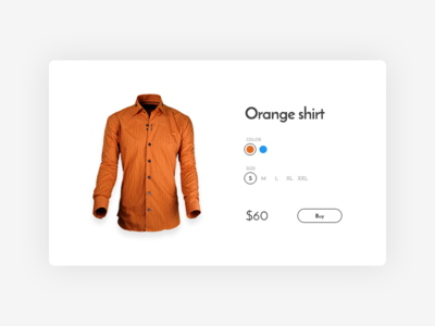 Customize Product (Daily UI #033)
