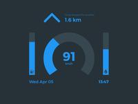 Car Interface (Daily UI #034)