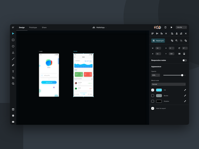 Adobe XD Dark Mode Concept adobexd adobe xd adobe visual design uiux ux user interface design user experience ui design minimal design user interface ui