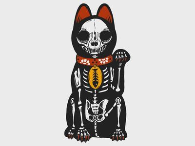 Maneki-neko Muertos