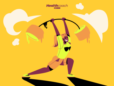 Challenge Yourself with Healthcoach by gitsdesign