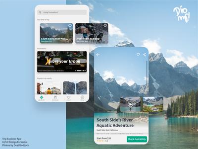 Trip Explorer UI/UX Design