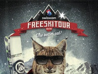 Swisscom freeski tour flyer