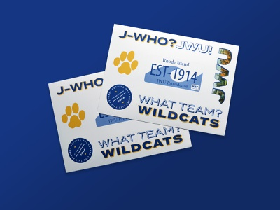 JWU Accepted Student Stickers branding playful fun graphicdesign brand design logodesign designs typography illustrator vectorart providence rhodeisland university jwu vector graphic design design sticker design stickermule stickers