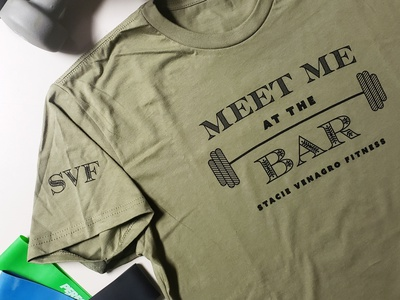 Meet Me at the Bar Graphic Tee screenprinted screen-printing design vector graphic tees tee design graphic tee graphics shirt shirtdesign graphicdesign tshirtdesign illustration illustrator graphic design gym typography tshirt tee graphic