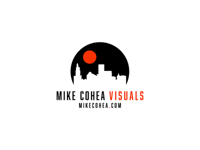 Mike Cohea Visuals Secondary Logo branded providence photographer rhodeisland logo brand design designers illustrator icon branding design brand identity logodesign branding designer illustration branding and identity design vector