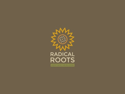 Radical Roots Vertical Logo