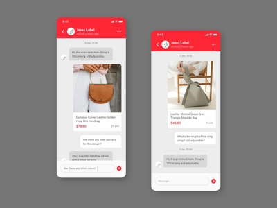Daily UI: #013 — Direct Messaging userinterface minimal uiux conversation chatbot chat direct messaging ui design dailyui
