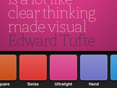 App Interface Design