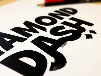 Diamond Dash Logo Sketch