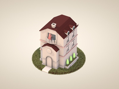 Lowpoly 3d modeling low-poly lowpoly