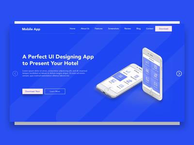 Mobile App For Dribbble