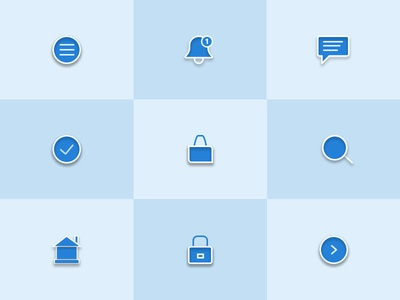 Fill Icons set