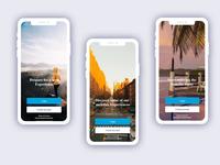 Travel story app