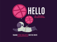 Dribbble Balloon