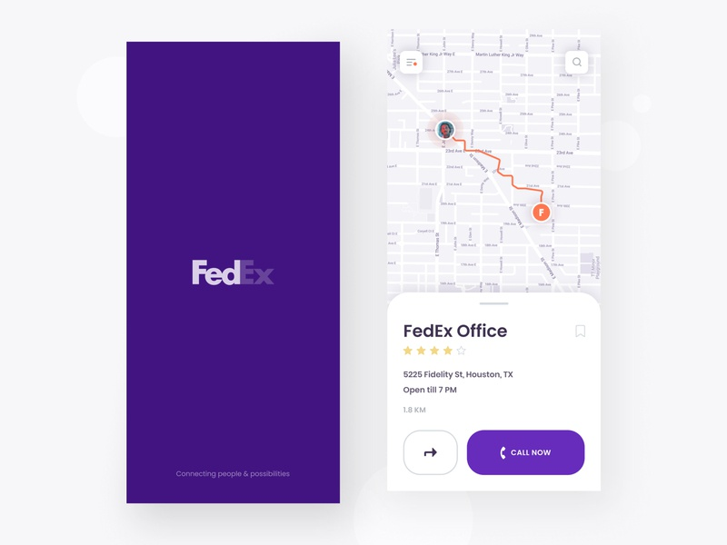 Redesign for FedEx 📦| Concept type vector icon typography logo brand app ux ui design