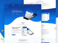 Novable Apps Landing Page Design