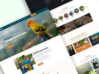 ZooPark Zoo & Safari Park web design