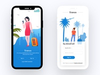 Traveo app sign in explanation