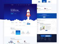 HostingLab homepage Eight