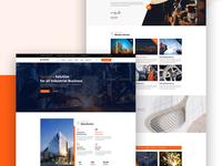 Dustrial - Factory & Industrial website design