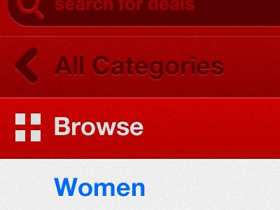 Some iPhone nav UI stuff