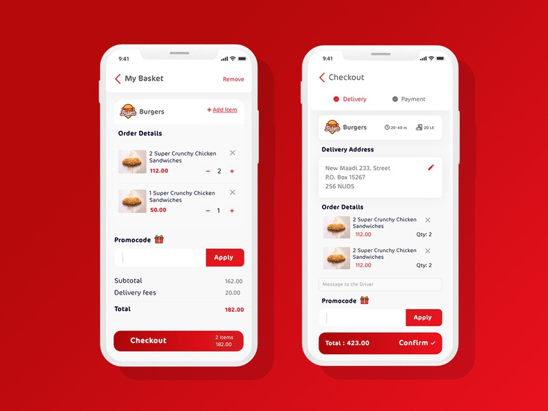 Food App art flat icon app vector design branding illustration