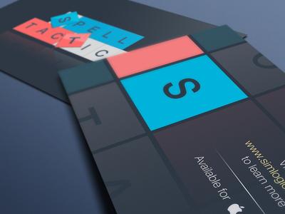 SpellTactics Business card