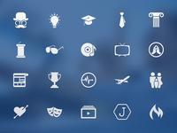 Joyride Interface Icons