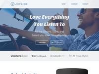 Joyride Website (Revamped)