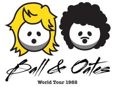 Ball & Oates bowling daryl hall john oates