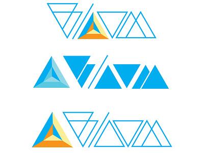 Bloom Logo geometric design geometric logo design logodesign logotype logo bloom