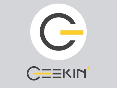 Logo Geekin' geek vector typography design typo type logotype logo design logodesign logo
