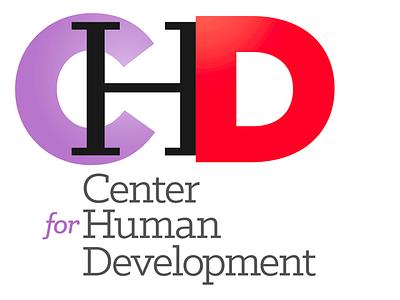 Center for Human Development logo concepts identity logos branding typography