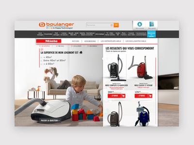 Miele E-commerce