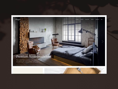 Alloggio - Bed and Breakfast Home vacation resort hotel theme hotel booking hotel hostel booking theme booking bed and breakfast apartment theme apartment booking apartment creative theme wordpress