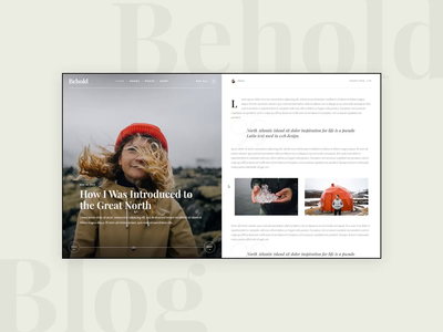 Behold -  Divided Posts travel blogger travel blog travel responsive personal blog theme personal blog personal elementor blogger blog theme blog personal blog adventure travel adventure theme wordpress