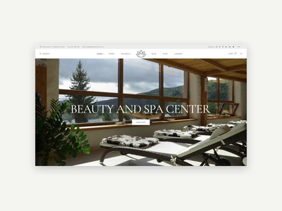 Reina - Spa and Wellness Theme web design svg animation wellness center wellness spa center spa skincare resort nail salon health elementor beauty treatment beauty spa beauty salon beauty center beauty