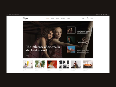 Elipsa - Creative Magazine Theme theme website wordpress publication news portal magazine wordpress magazine blog magazine lifestyle magazine lifestyle blog fashion elementor editorial creative magazine creative blog blogger blog art magazine
