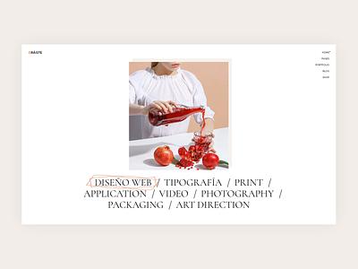 Oráiste links minimal design modern clean interactive portfolio creative theme wordpress