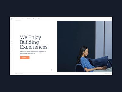 Thorsten -  Business Consulting agency clean horizontal portfolio small business theme wordpress technology