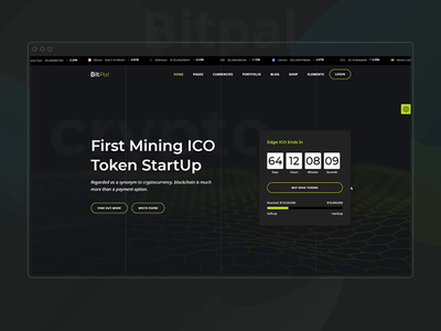 BitPal ui theme wordpress technology startup mining ico landing page ico agency ico currency exchange cryptocurrency investments cryptocurrency advisor crypto trading crypto coins business blockchain bitcoin app