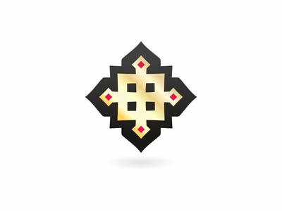 Jewelry cross Logo
