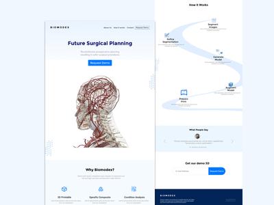 Medex Landing Page