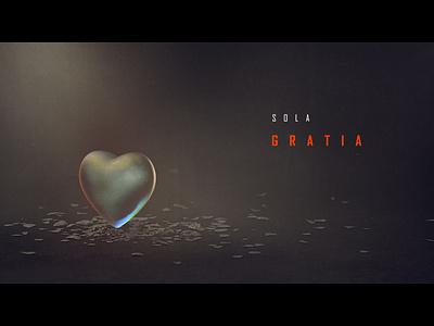 Sola Gratia title design cinema 4d 5 solas five solas