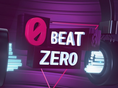 Beat ZERO television mtv style urban party music channel intro broadcast mograph