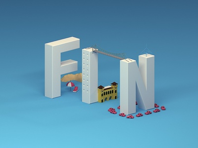 Moving! Florianopolis after effects city illustration city guide floripa city cinema 4d
