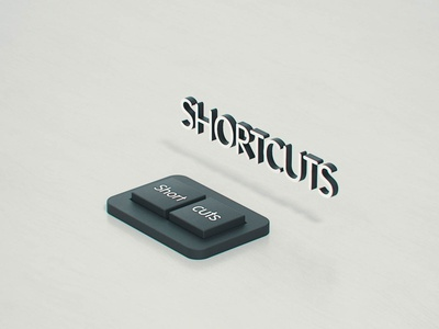[SHORTCUTS] - Animation c4d redshift motion design after effects cinema 4d motion graphics animation