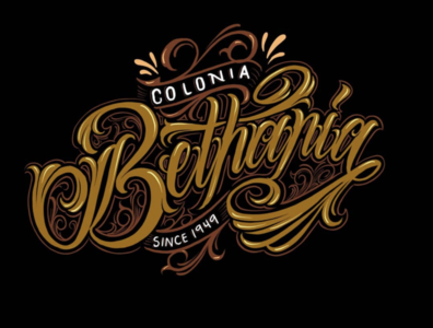 Lettering Colonias